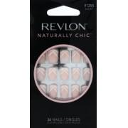 Unhas Curtas Naturally Chic Chevron Smile - Revlon