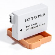 Bateria LP-E8 1200mAh para c�mera digital e filmadora Canon EOS Digital Rebel T2i, T3i, EOS digital