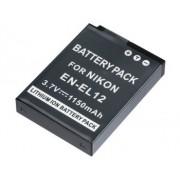 Bateria EN-EL12 1150mAh para c�mera digital e filmadora Nikon Coolpix S70, S610, S620, S630, S640, S