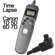 Cabo Disparador Remoto Time Lapse para Canon RS-80N3