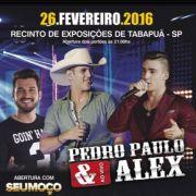 Pedro Paulo & Alex - 26/02/16 - Tabapu� - SP