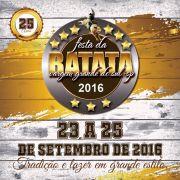 Festa da Batata - 23 a 25/09/16 - Vargem Grande do Sul - SP