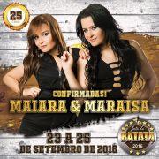 Maiara & Mara�sa - 24/09/16 - Vargem Grande do Sul - SP