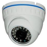 C�mera Dome Infra HDTVI Full HD 1080p 2 Megapixels 1/3 Sony 24 eds IR CUT 3.6mm 30mts