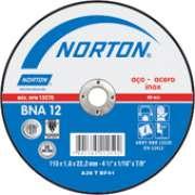Disco Corte Norton - 229 X 2,0 ( 9 Pol. X 2,0 ) - A. Inox - BNA 22 - NORTON