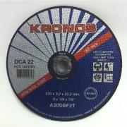 Disco Corte DCA22 - 12 Pol X 1/8 X 3/4 - KRONOS