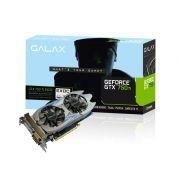 Geforce Galax GTX Performance Nvidia 75IPH8DV9JXZ GTX 750TI EXOC 2GB DDR5 128BIT 5400MHZ DVI HDMI DP