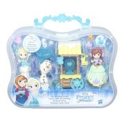 Conjunto Frozen Mini Cenario Acessorios de Inverno Hasbro B5191 11456