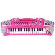 Teclado Infantil Grande Barbie FUN 370W-B 7204-2