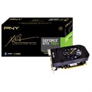 Placa de Video Geforce PNY GTX 750TI 2GB DDR5 128 BITS VCGGTX750T2XPB