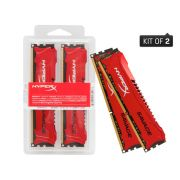 Memoria Desktop Gamer HYPERX DDR3 Kingston HX316C9SRK2/16 Savage 16GB KIT(2X8GB) 1600MHZ CL9 UDIMM R