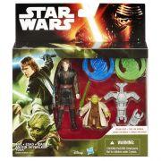 Boneco STAR WARS EP Vii Anakin & Yoda Hasbro B3955 11384