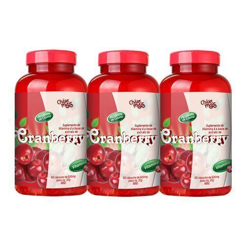 Cranberry - Promo��o 3 Unidades - Ch� Mais