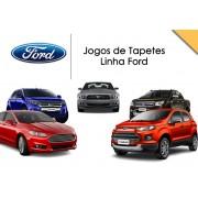 Tapete Personalizado Fiesta Ka Ecosport Focus Fusion 5 Pe�as