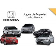 Tapete Personalizado Linha Honda Civic City Fit New Fit New Civic