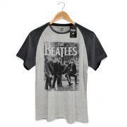 Camiseta Raglan Premium Masculina The Beatles Hey What�s That