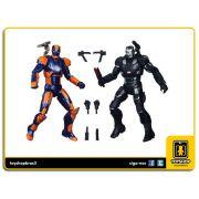Marvel Legends Captain America Civil War: War Machine & Iron Man Mark XXVII Pack 2 Figuras - Hasbro