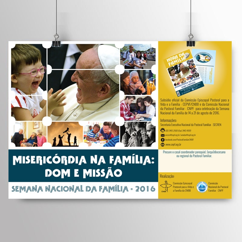 Kit com 10 cartazes da SNF 2016