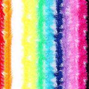 Marabu Sint�tico Colorido Com Fios Metalizado 75Cm