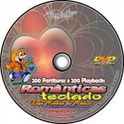 Teclado Partituras Rom�nticas + 200 Playbacks MP3 Acompanhamento para Teclado