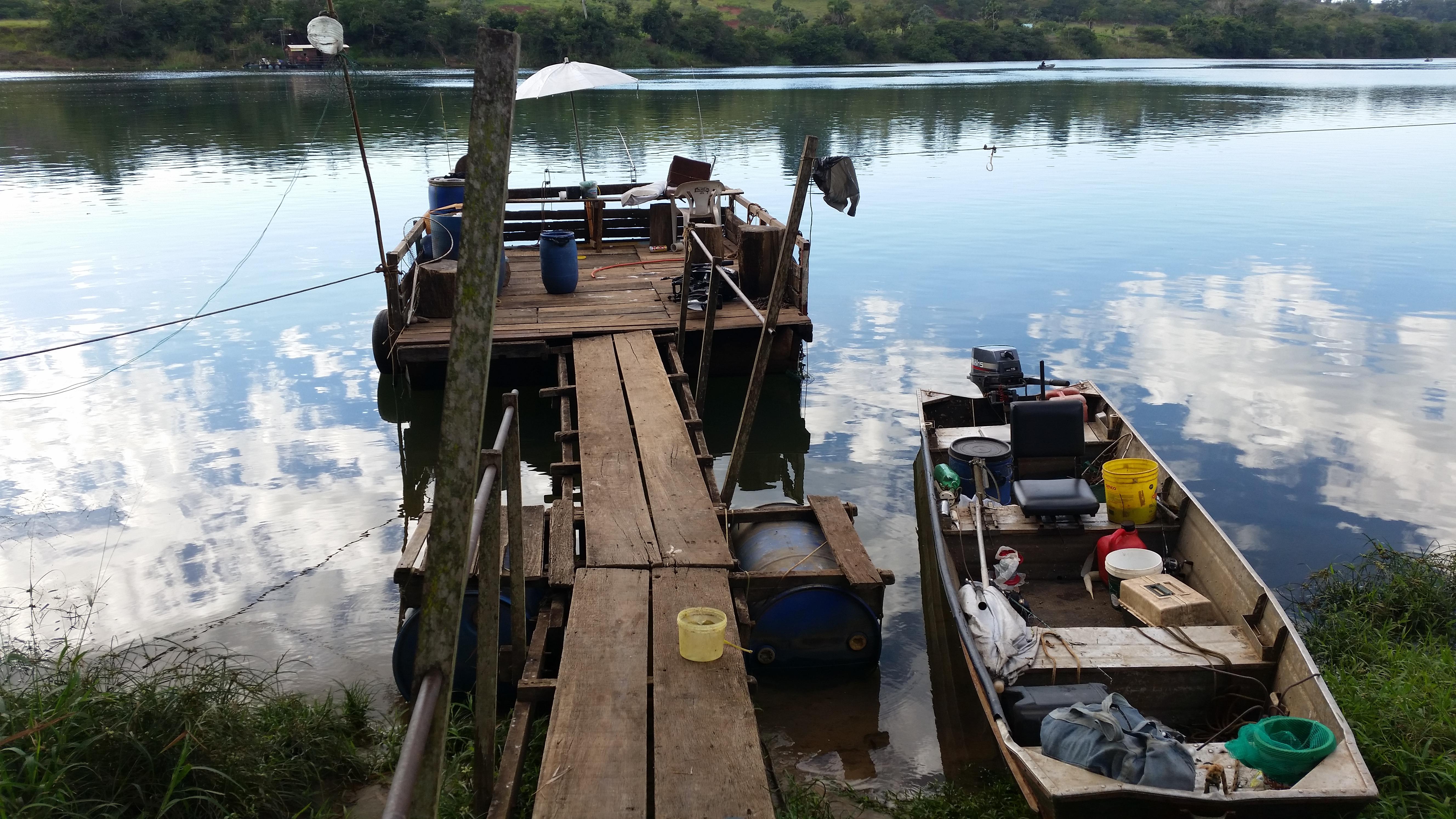 Porto da Mandioca - Pesca e Lazer as margens do rio grande - mg