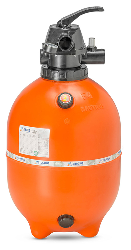 Filtro Para Piscina Nautilus F450p - Piscinas Até 52.000 L