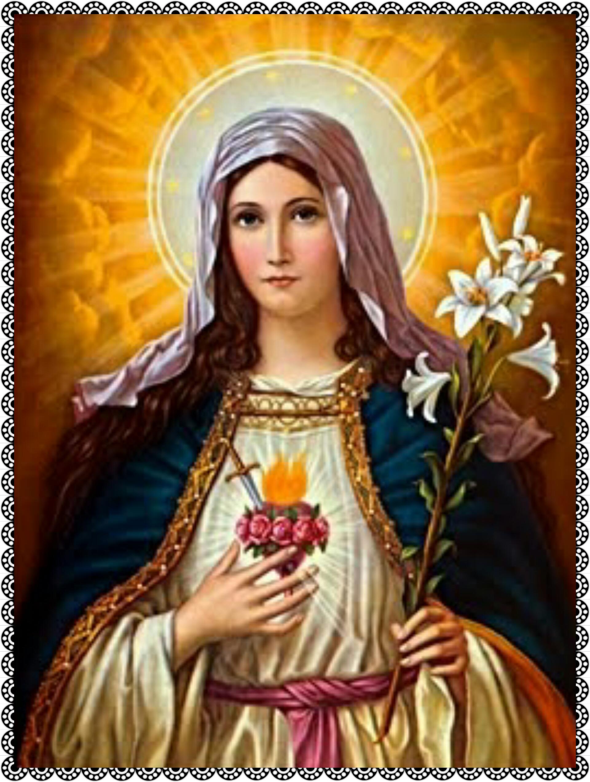 Imaculado Cora��o de Maria, sede a nossa salva��o!