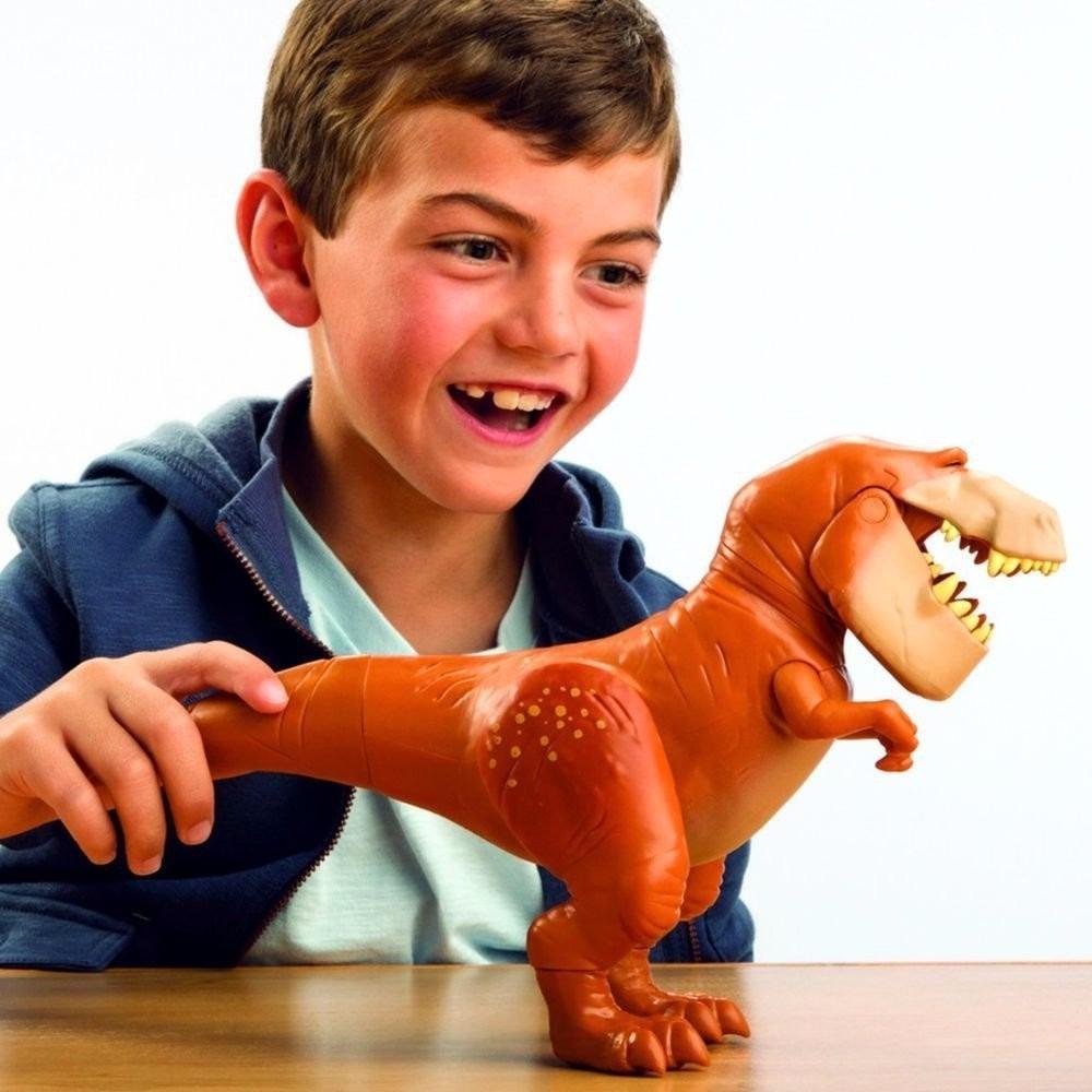 Boneco Dinossauro 20cm Articulada Butch O Bom Dinossauro Disney Sunny Ref. 1403