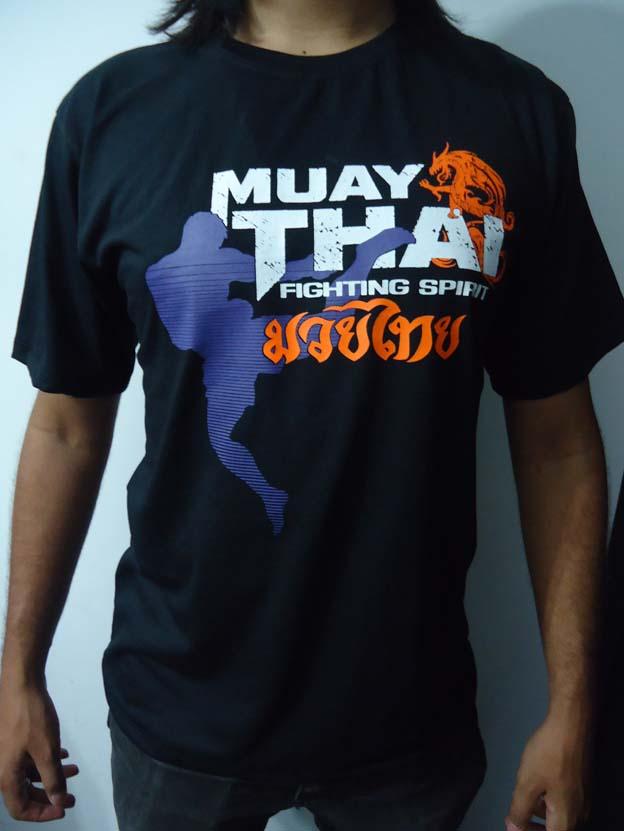 Camisa/Camiseta - Muay Thai Dragon Spirit - Toriuk