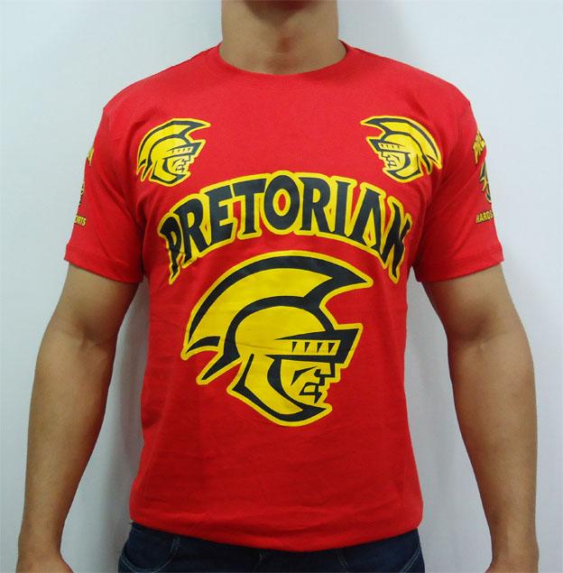 Camisa/Camiseta - Spartan - Vermelho- Pretorian