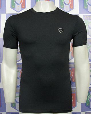 Camisa de Compress�o T�rmica - Preto - Manga Curta - Finta Pro II
