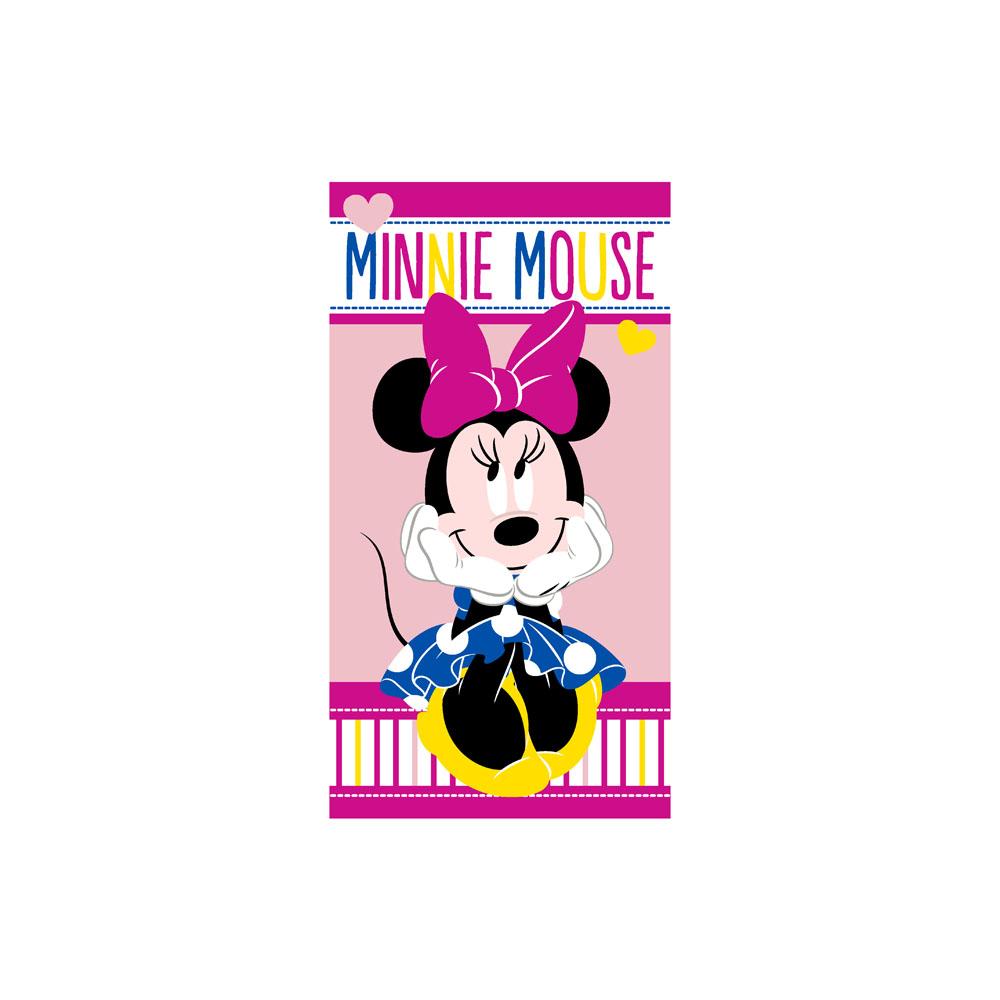 Toalha de Mão Infantil - Minnie Lovely - 100% Algodão - Santista