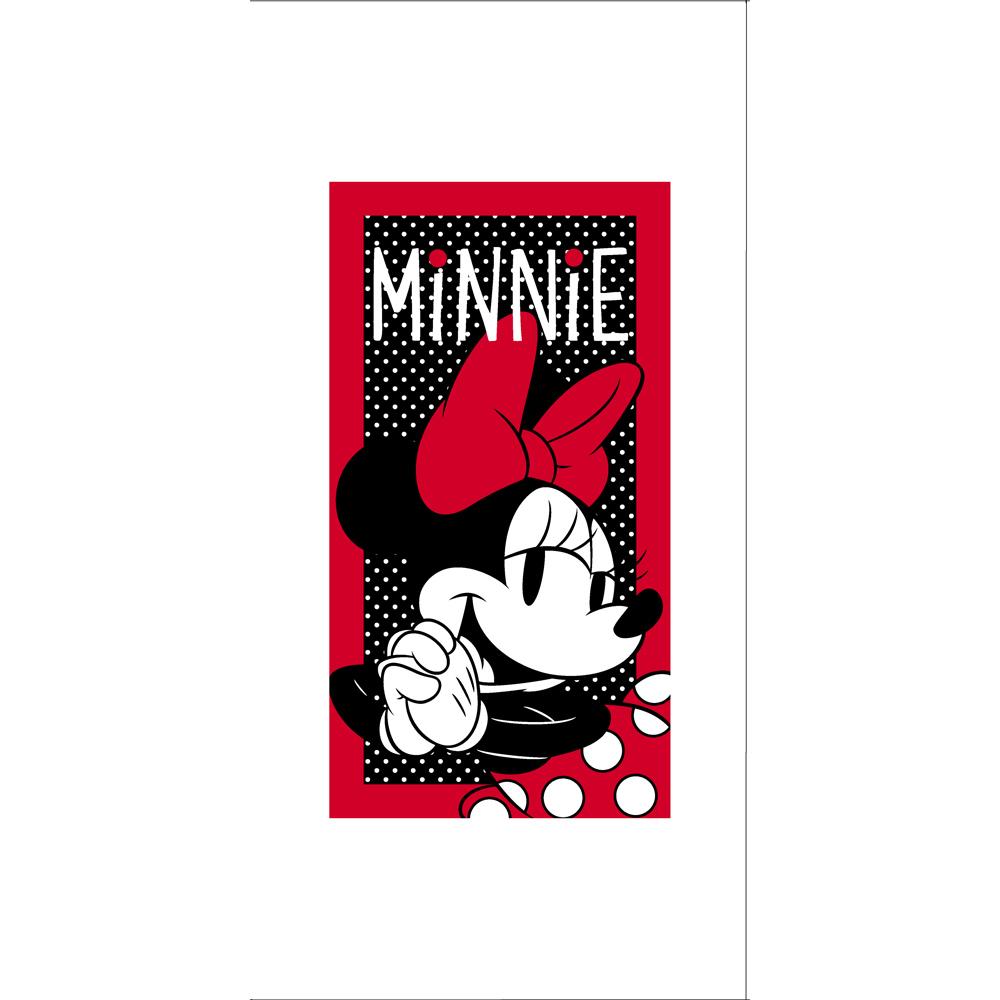 Toalha de Mão Infantil - Minnie Vintage - 100% Algodão - Santista