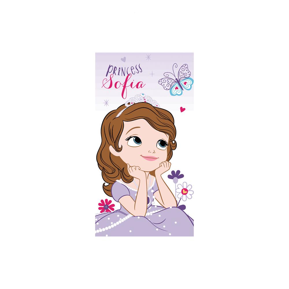 Toalha de Mão Infantil - Sofia Flowers - 100% Algodão - Santista
