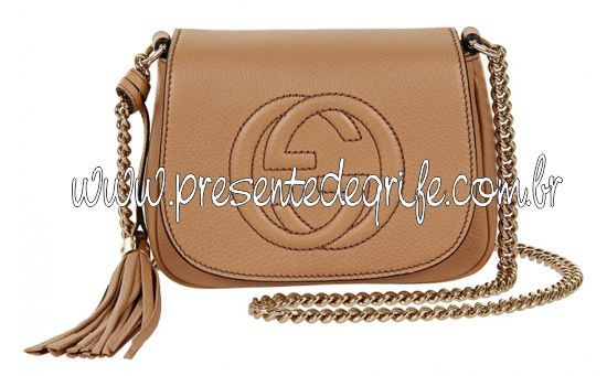 BOLSA GUCCI SOHO LEATHER CHAIN
